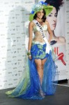 Miss Mauritius 2010 Dalysha Doorga poses during the Miss Universe national costume event in Las Vegas