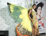 Miss Jamaica 2010 Yendi Phillipps poses during the Miss Universe national costume event in Las Vegas