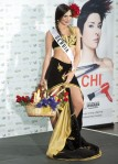 Miss Serbia 2010 Lidija Kocic poses during the Miss Universe national costume event in Las Vegas