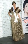 Miss Russia 2010 Irina Antonenko poses during the Miss Universe national costume event in Las Vegas