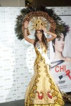 Miss Mexico 2010 Jimena Navarrete poses during the Miss Universe national costume event in Las Vegas