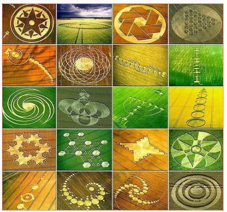 Kumpulan Foto Crop Circles
