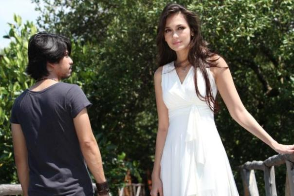 Luna Maya syuting Video Klip