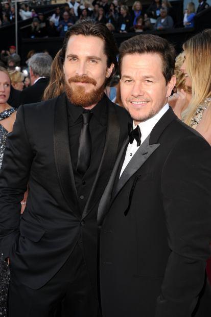Christian Bale dan Mark Wahlberg