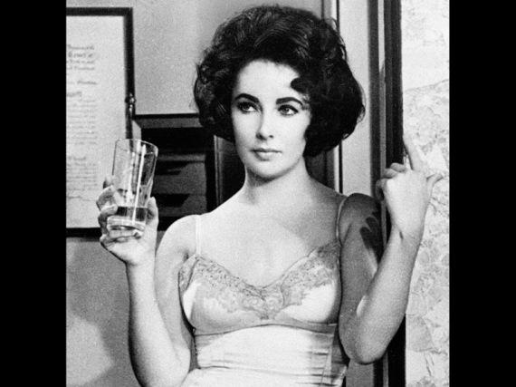"Elizabeth Taylor dalam film ""Butterfield 8"", 1961"