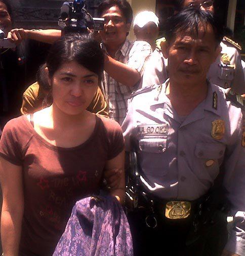 Selly Yustiawati Ditangkap Polisi