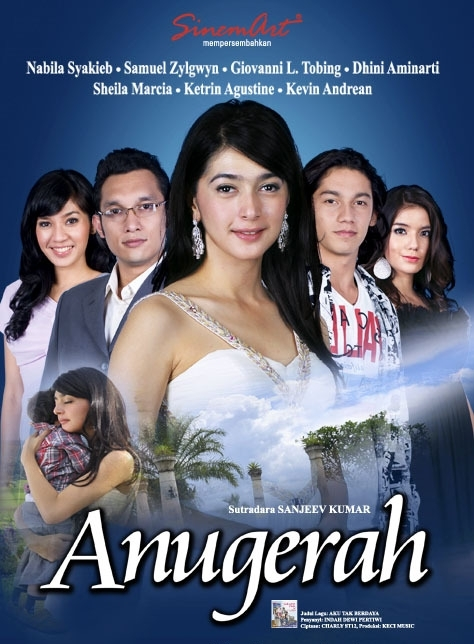 Poster Anugerah (Sinetron Nabila Syakieb di RCTI)