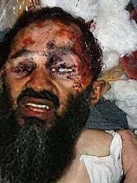 Foto Jenazah Osama Bin Laden