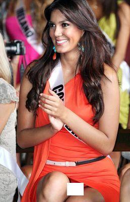 Foto Catalina Robayo Peserta Miss Universe 2011 Tanpa Celana Dalam